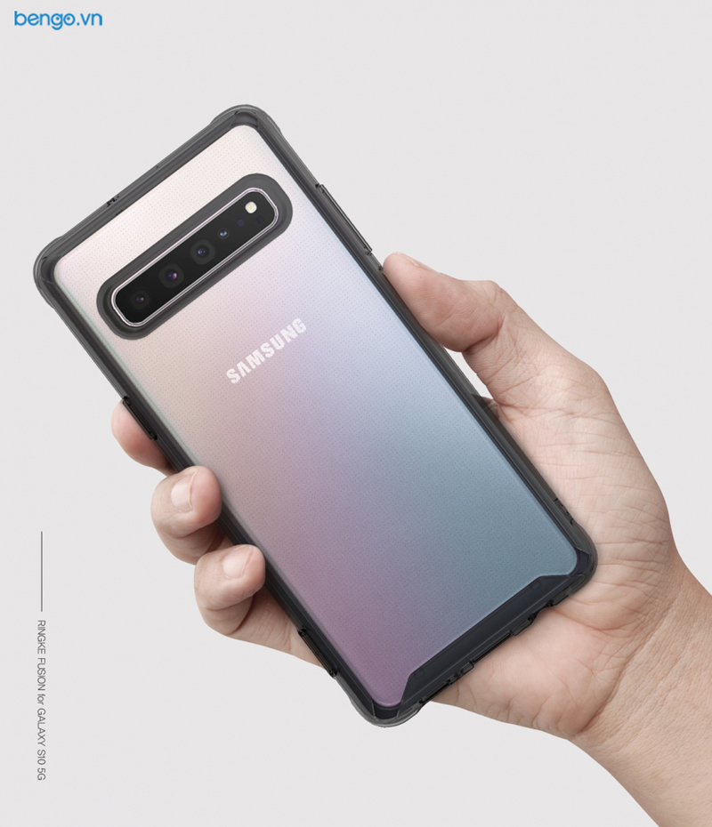Ốp lưng Samsung Galaxy S10 5G RINGKE Fusion