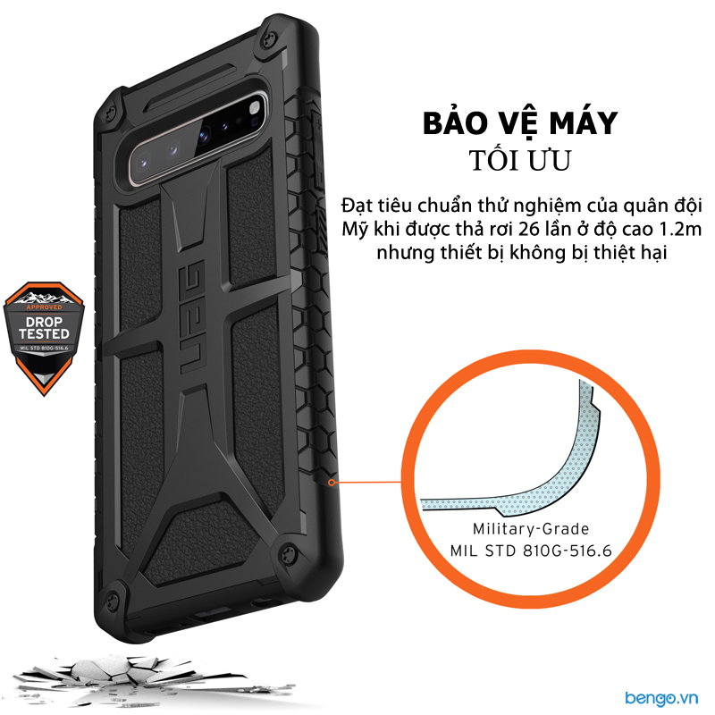 Ốp lưng Samsung Galaxy S10 5G UAG Monarch Series