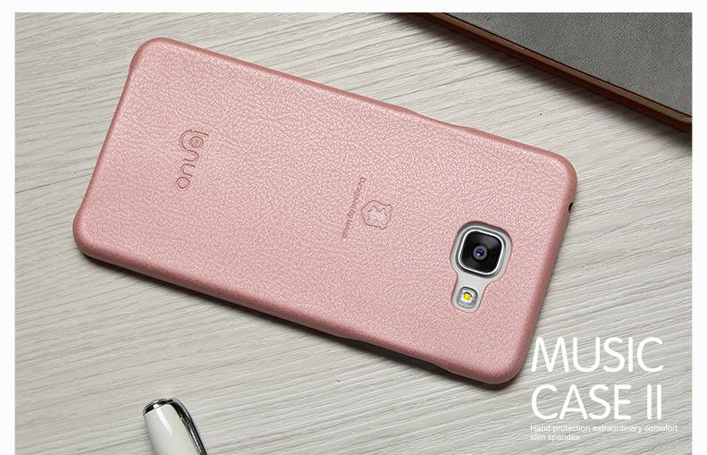 Bengo.vn - Ốp lưng da Samsung Galaxy A5 (2016) Lenuo