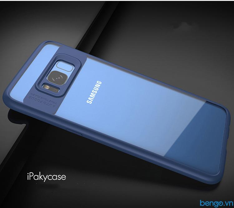 Ốp lưng Samsung Galaxy S8 Plus IPAKY trong suốt viền nhựa dẻo