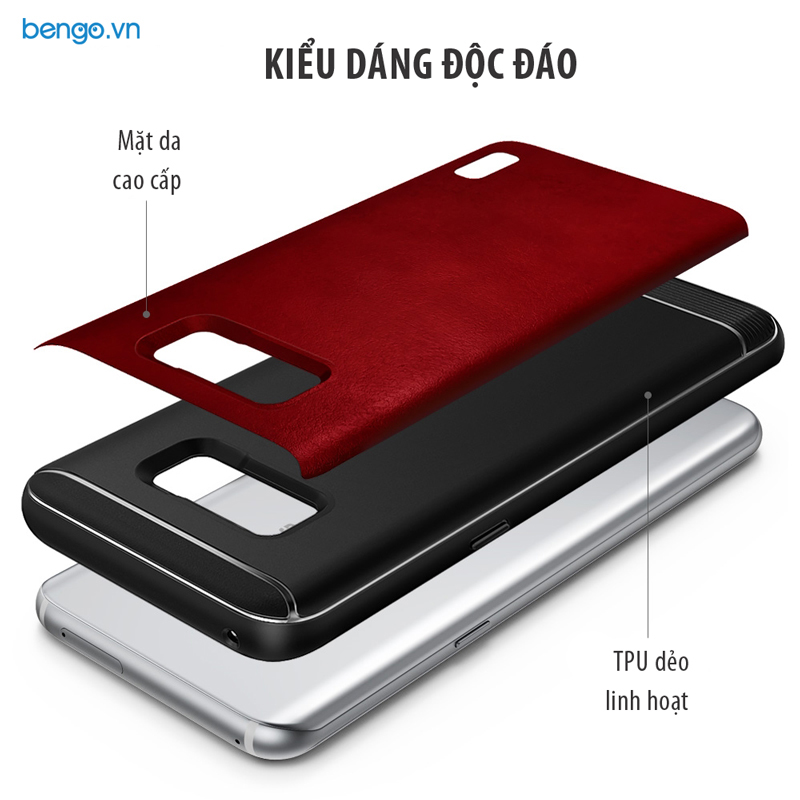 Ốp lưng Samsung Galaxy S8 Plus Ringke Flex S