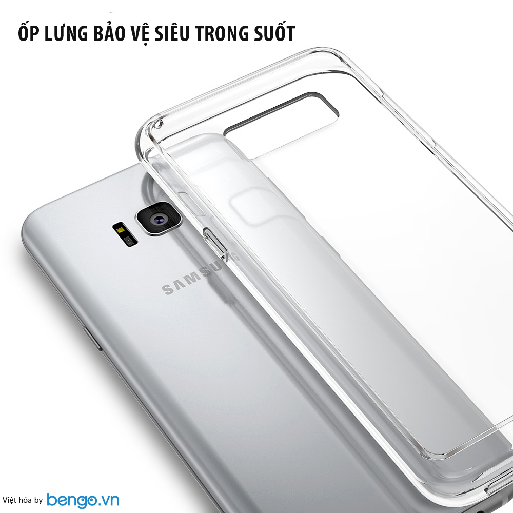 Ốp lưng Samsung Galaxy S8 Plus Ringke AIR
