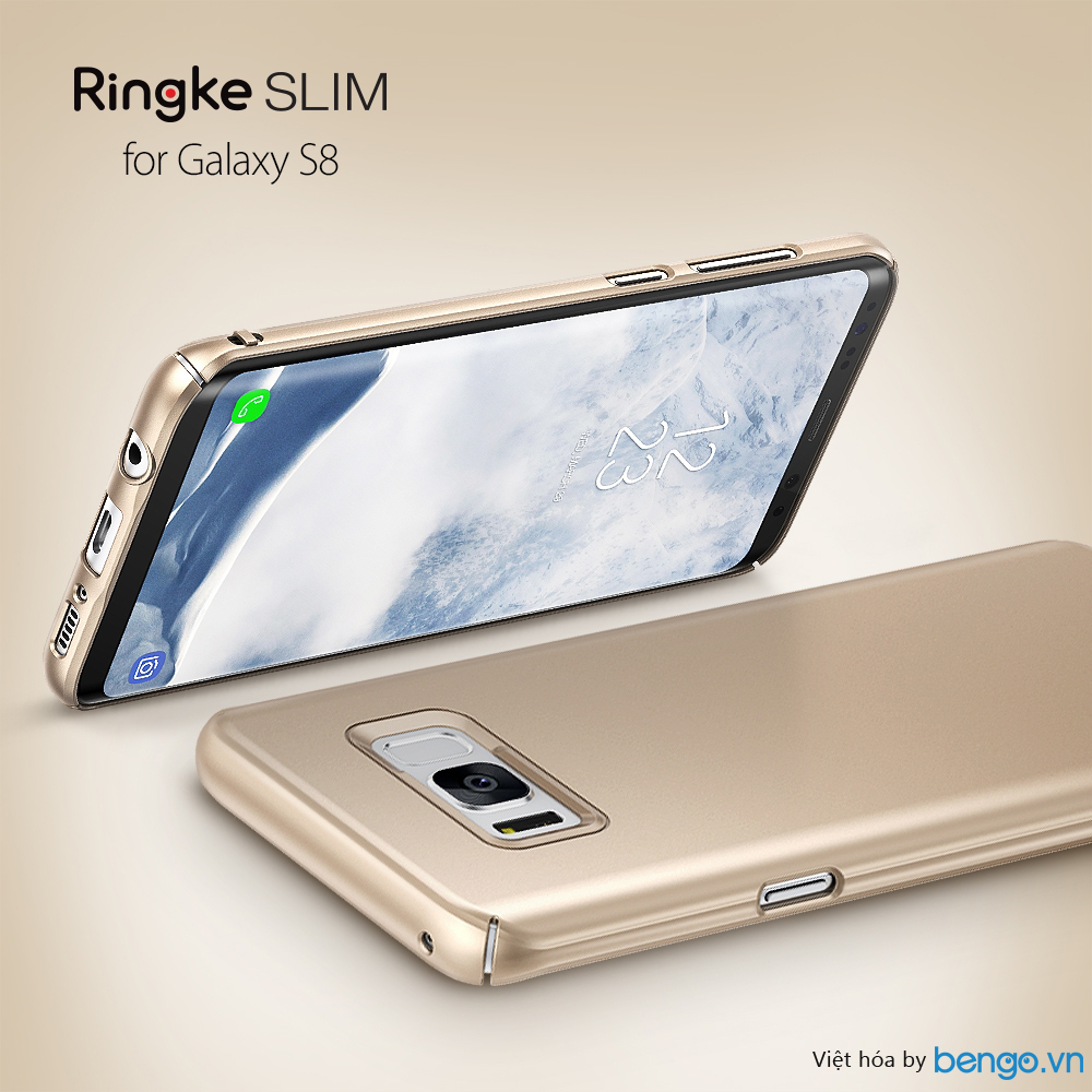 Ốp lưng Samsung Galaxy S8 Ringke Slim