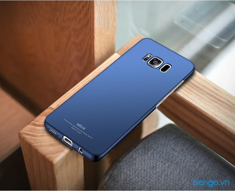 Ốp lưng Samsung Galaxy S8 MSVII nhựa cứng siêu mỏng
