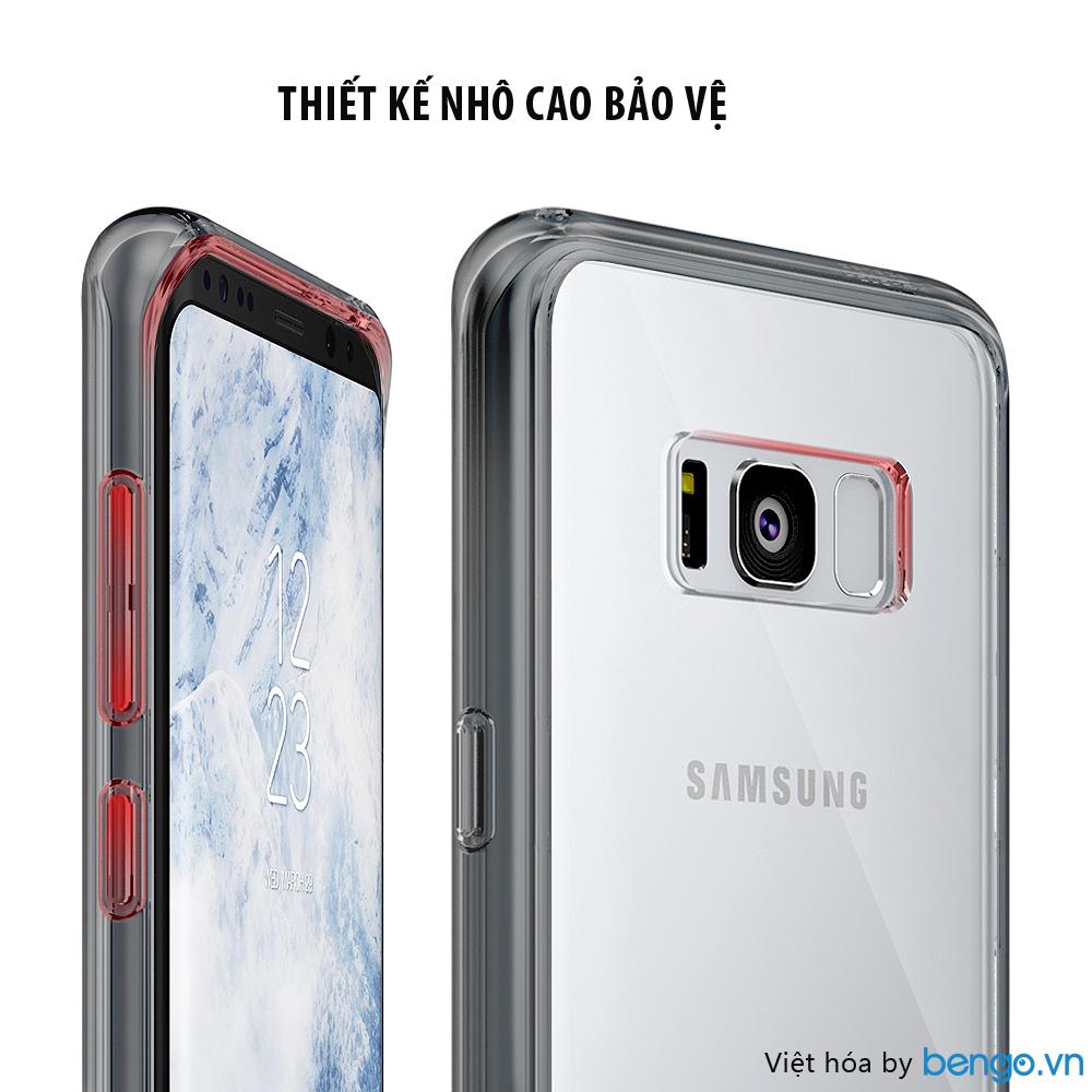 Ốp lưng Samsung Galaxy S8 Ringke Fusion