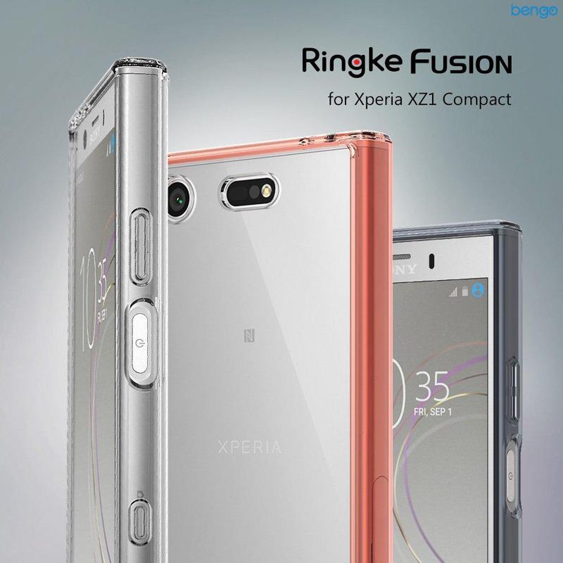 Ốp lưng Sony Xperia XZ1 Compact RINGKE Fusion