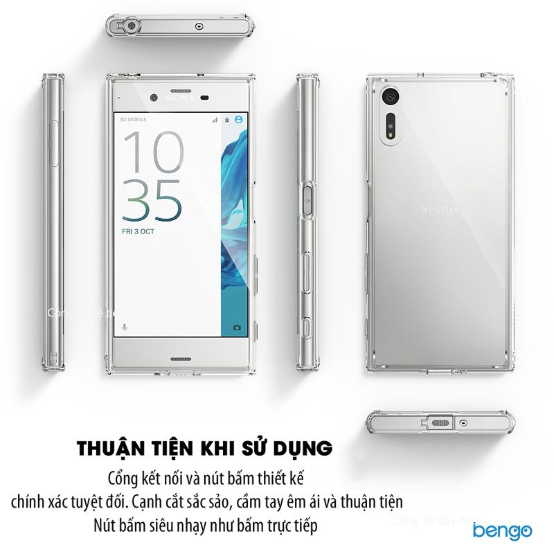 Ốp lưng Sony Xperia XZ/XZs Ringke Fusion